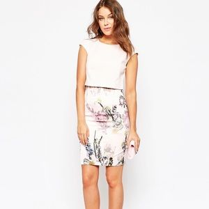Ted baker moline dress size 0 xsmall